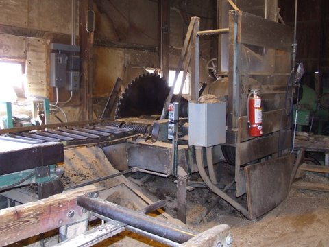 the big saw in the mill